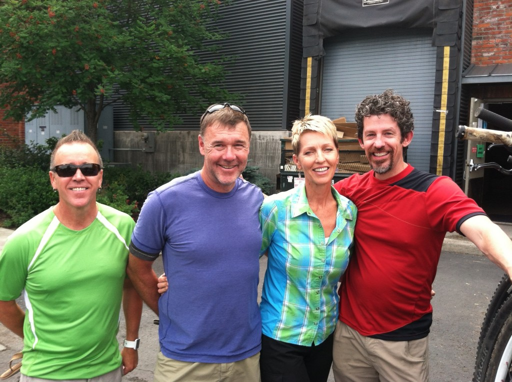 Les, Jerry, Lori, Doug from REI