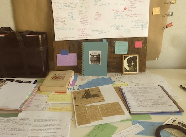 creating writing is messy